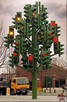 多数の信号機