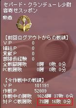 ノアジ3作戦目 PC成績