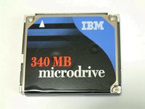 Microdrive 340MB