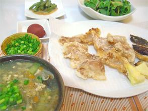 お肉の天ぷら