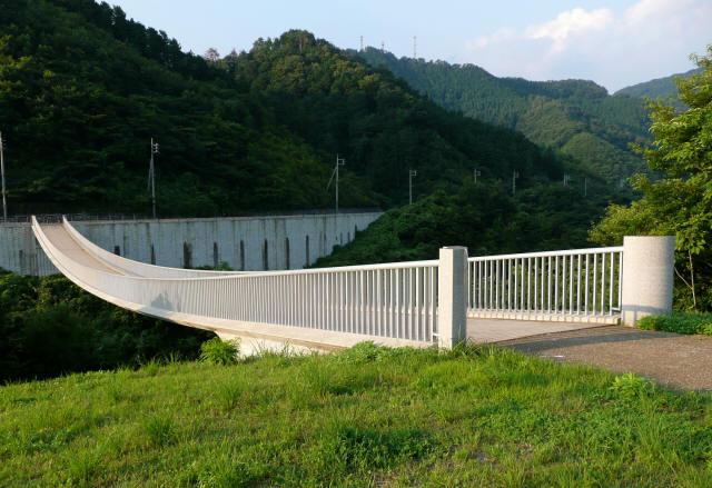 奥津湖浮島橋3