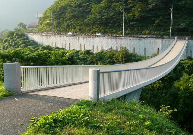 奥津湖浮島橋4