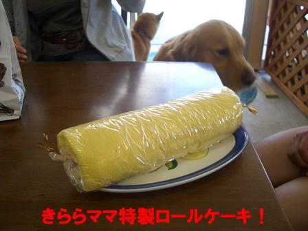 きららママ特製ロールケーキ