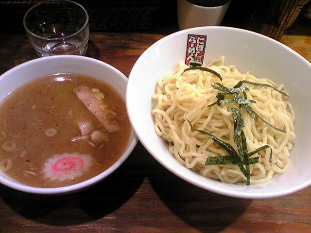 「煮干らーめん 玉五郎 二代目」 つけ麺 日本橋 8/9
