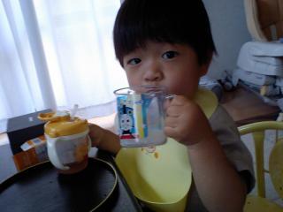麦茶と牛乳