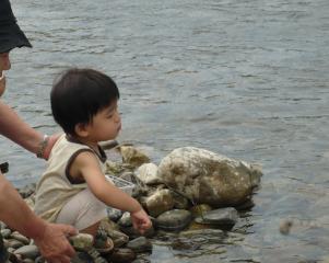 2008.7川遊び