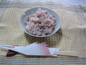 古代米ごはん