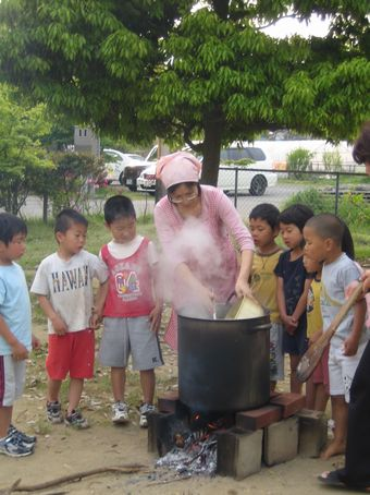 2008-5-合宿カレー-6