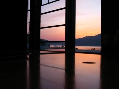小豆島の夕焼け