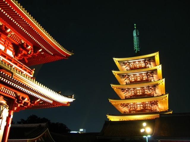 浅草の夜景1