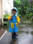 雨降ってるけど。。