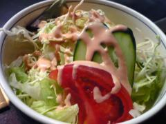 ビーフカレー  サラダ
