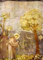 小鳥に説教する聖フランチェスコ
