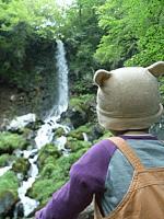レイナちゃんと滝
