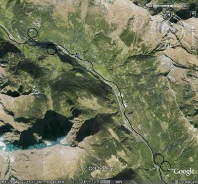 スイスのループ線1