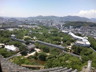 200801天守閣風景