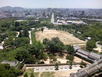 200801天守閣風景2