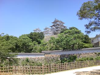 200801姫路城風景