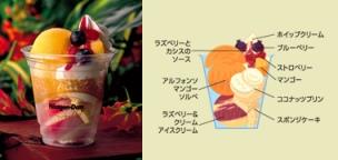 マンゴーココナッツパフェ2