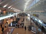 この日の羽田空港第2ターミナル。
