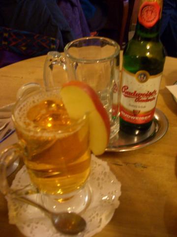 カルヴァドスとチェコビール