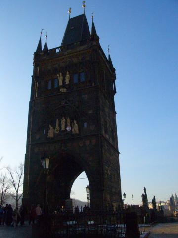 ゴシックの橋塔