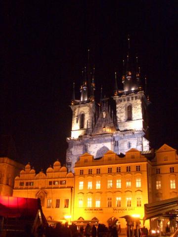 夜のティーン教会