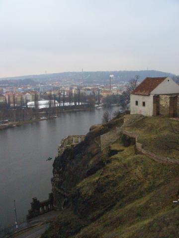 ヴィシェフラドからの眺め
