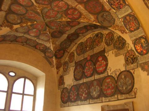 旧王宮の中