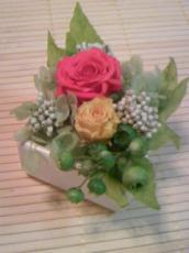 お祝いにいだだいたお花