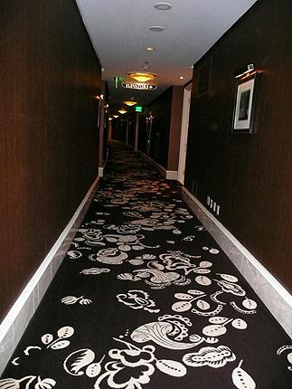 60階の廊下