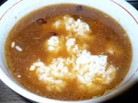 スープ割り雑炊