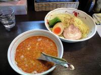 辛味噌つけ麺・2玉