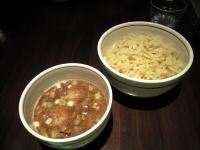 炙り肉魚つけ麺・大盛