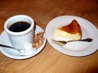 コーヒー&ベークドチーズケーキ