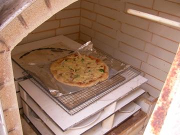 陶芸ピザ1