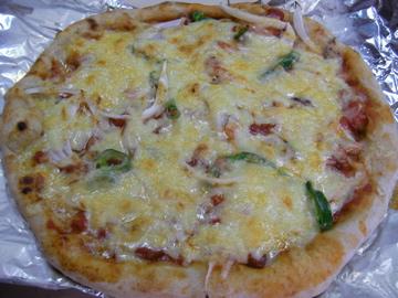 陶芸ピザ2