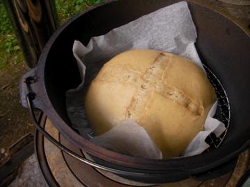 干し柿酵母パン1