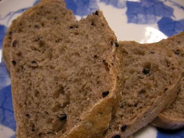 黒米パン3