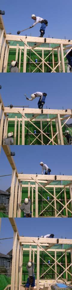 建て方20080706