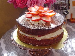 victorian sandwich strawberry blog