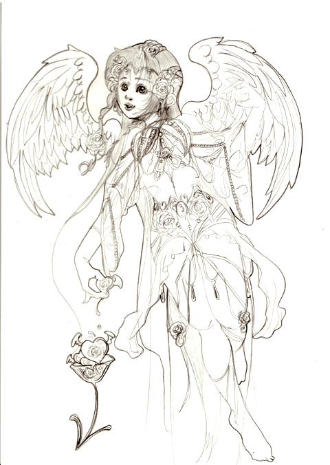 澄んだ瞳の女神