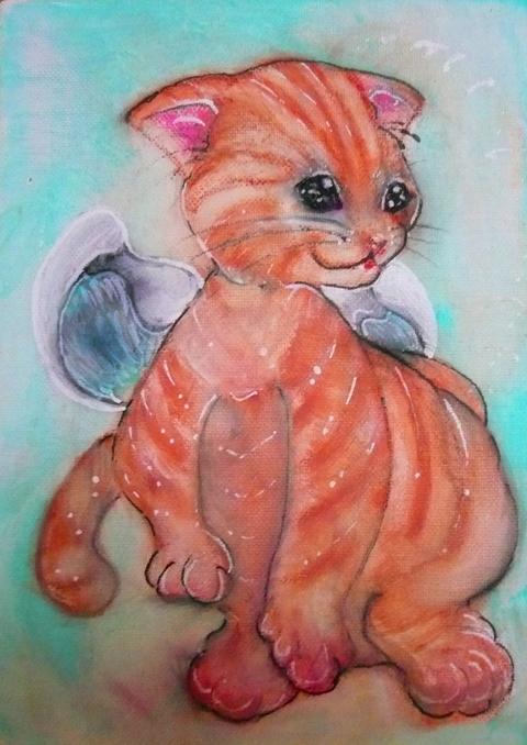 エンジェル猫ちゃん