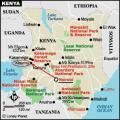 ケニアマップ