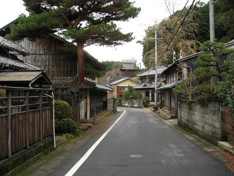 大湫宿・神明町