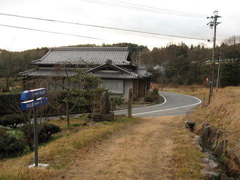 琵琶峠西の上り口
