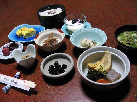大黒屋の朝食