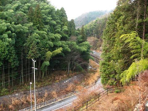 津橋川・諸の木坂から望む