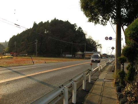 国道21号・丸山付近