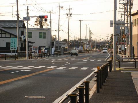 国道21号・長岡交差点付近